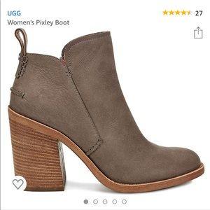 Ugg high heel bootie